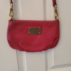 EUC- Marc Jacobs Percy Red Leather Crossbody Bag